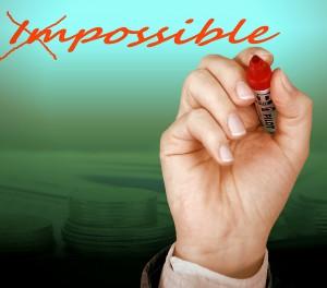 Maak onmogelijk mogelijk
